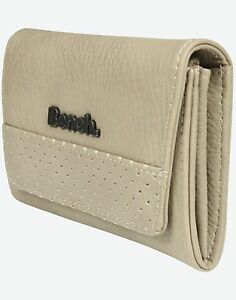 Bench Womens Wallet Hayne Purse Simply Taupe Light Beige - NEW