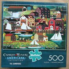 NEW A 500 PIECE JIGSAW PUZZLE BY CHARLES WYSOCKI - THE CAMBRIDGE