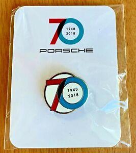 2018 PORSCHE 70 Year Anniversary Collectible Lapel Pin/Tie Tack