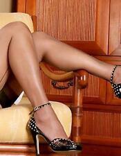 Chaussettes en nylon pour femme, taille XL