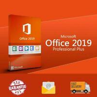 Office 2019 Professional Plus- Descarga Sitio Oficial y Licencia - 32/64 OFERTA