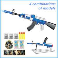 AK47 Water Bullet Soft Gun Strike Dart Blaster Elite Toy Lot Cs Darts