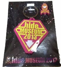 X JAPAN Hide Museum 2013 official goods LED Light Keychain very rare limited