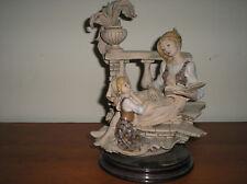 GIUSEPPE ARMANI - Statua donna racconta fiaba bimba