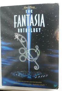 Fantasia Anthology Collectors Edition 3  DVDs