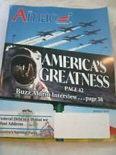 The Amac Magazine August 2020 America's Greatness Buzz Aldrin Brand New