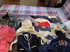 G) Girls 3-4 Year Winter Bundle. Dress Jumper Tops Leggings Coat Cardigan Hoddy