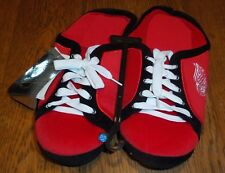 Sz 11/12 Detroit Red Wings Team Tennis Shoes Lace-up Slippers Brand New
