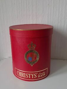 VINTAGE HAT BOX CHRISTY'S LONDON