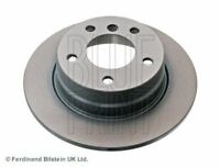 BLUE PRINT BRAKE DISCS REAR PAIR FOR A BMW 1 SERIES HATCHBACK