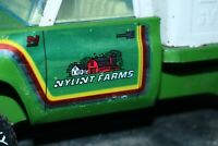 Nylint Farms Stake Delivery Truck and Trailer set - Pressed Steel