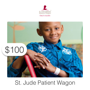 $100 Charitable Donation For: St. Jude Patient Wagon