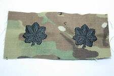 GENUINE US ARMY ISSUE MCU MULTICAM PAINTBALL LT COLONEL RANK INSIGNIA CLOTH
