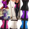 Women Latex Rubber Slim Waist Trainer Corset Body Shaper Shapewear Sport Cincher