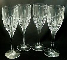 New listing set of 4 Wine Glass Uptown by Mikasa