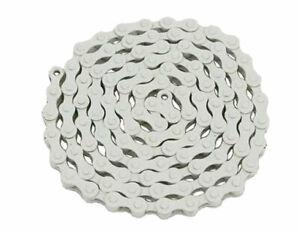 ORIGINAL YBN Chain 1/2x1/8x112 1/Speed White for Bike Parts