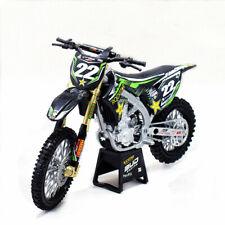 New Ray 1:12 Kawasaki KX450F Bud Racing #22 Motorcycle Model Black