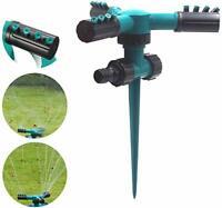 BEST 1*360° Rotating Sprinkler Automatic Garden Water Sprinklers Lawn Irrigation