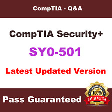 CompTIA SY0-501 Exam Dumps CompTIA Security+ Questions & Answers