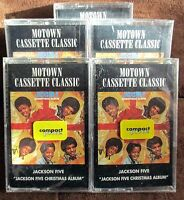 The Jackson 5-The Christmas Album-Cassette 1992-Motown RARE/HTF/MINT MICHAEL