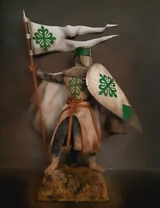 "12"" CUSTOM KNIGHT OF THE ORDER OF ALCANTARA, MEDIEVAL CRUSADER 1/6 FIGURE IGNITE"