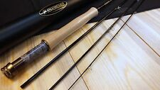 New Sage X 590-4 fly rod 9 foot 4 pc 5 weight .