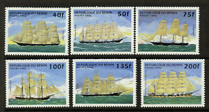 Benin 850-6 MNH Sailing Ships