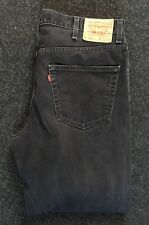 Levi's 550 Da Uomo Jeans Relaxed Fit Tapered Leg W40 L31 Strauss