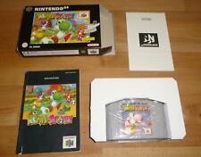 Original N64 Yoshis Story - Nintendo PAL Deutsch Top - mit OVP Box CIB