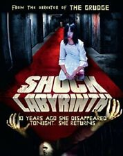 SHOCK LABYRINTH 3D- Hong Kong RARE HORROR Action movie - NEW DVD
