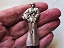 Vintage '30s GERMANY Diecast Pocket Pencil Sharpener JAZZ BAND SERIES VIOLIN