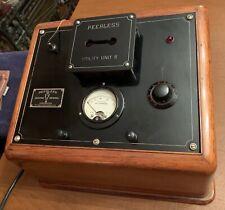 1943 Peerless Electro Medical Diathermy Machine