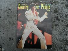 Country music people magazine - Oct 1977 - Elvis Presley