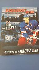 New York Rangers Official Program 2014-2015 - Derek Stepan Cover.