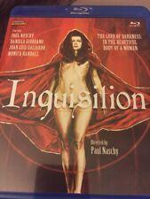 Inquesition Blu-ray. Paul Naschy Spanish Horror