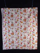Vintage Hand-Made Country Kitchen Comforter. Excellent condition.