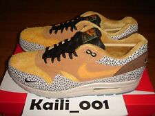 Nike Air Max 1 Premium QS Size 10 Atmos 665873-200 Safari Animal 2016 A