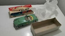 VINTAGE SPORTS CAR TIN TOY FRICTION 60's CHINA MF 772 FRICTION DRIVE N3 ORIG.BOX