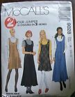 McCall's Sewing Patterns no.9028 sizes 6,8,10 ladies dress & jumper New