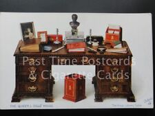 Tucks: The Kings Library Table THE QUEENS DOLLS' HOUSE c1924 - No.4501 Ex