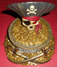 Walt Disney World Pirates Of The Caribbean Coin Bank - New
