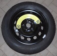Original skoda yeti 5l notrad 16 pulgadas rueda de repuesto rueda de repuesto llanta con neumáticos