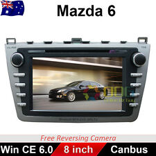"8"" Car DVD GPS Navigation Stereo Head Unit For Mazda 6 2008-2012 Support Bose"