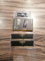 Corsair MP510 NVMe M.2 SSD 960gb + Vengeance LPX 16GB DDR4 DRAM