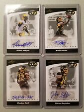 2017 Leaf U.S. Army All American Bowl, Autographed 7 Card Lot