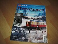 Modelleisenbahner Spezial Heft 13 aus 2004 Wetterlaunen top Zustand