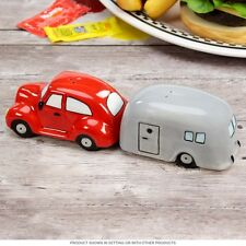 Magnetic Salt and Pepper Shaker - Car and Trailer