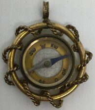 Victorian Compass Watch FOB Gold Filled Fancy Design (V107)