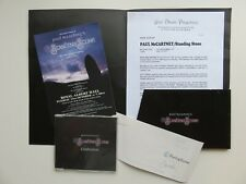PAUL McCARTNEY  STANDING STONE CD AND PRESS KIT RELEASE