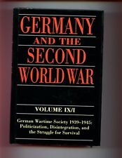 GERMANY & THE SECOND WORLD WAR - Volume 9/1 ,( Official History)1st HBdj VG